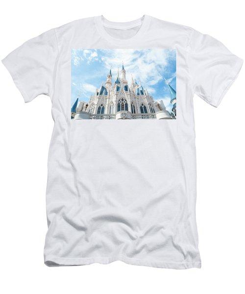 Castle Sky Men's T-Shirt (Slim Fit) by Pamela Williams
