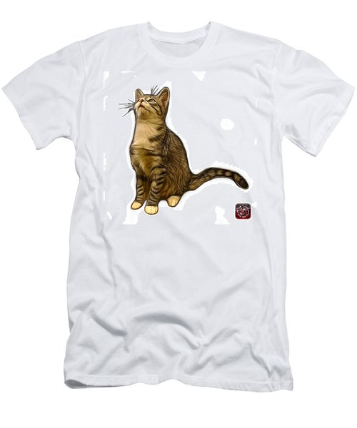 Cat Art - 3771 Wb Men's T-Shirt (Athletic Fit)