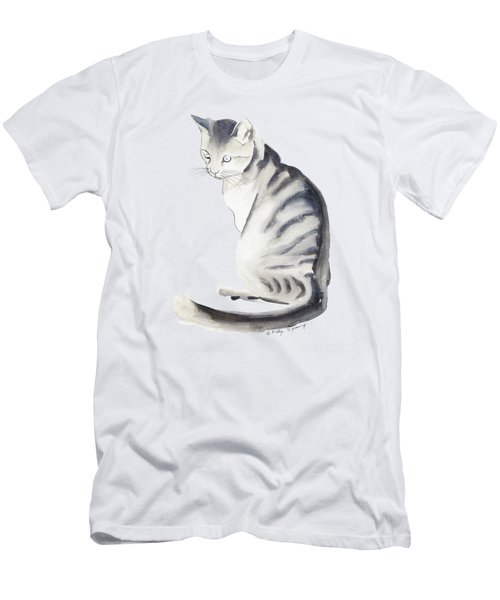 Cat Art I Men's T-Shirt (Slim Fit) by Melly Terpening
