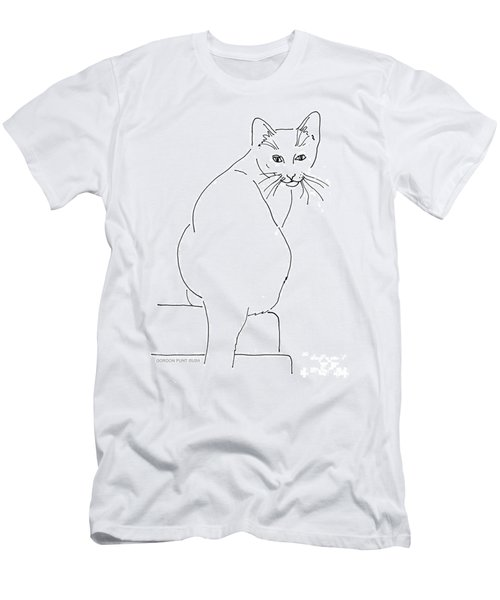 Cat-artwork-prints Men's T-Shirt (Athletic Fit)
