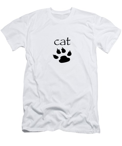 cat Men's T-Shirt (Slim Fit)