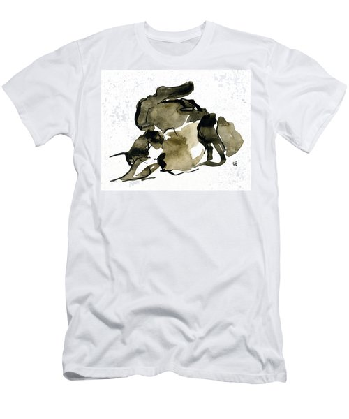 Cat Nap - 2 Men's T-Shirt (Athletic Fit)