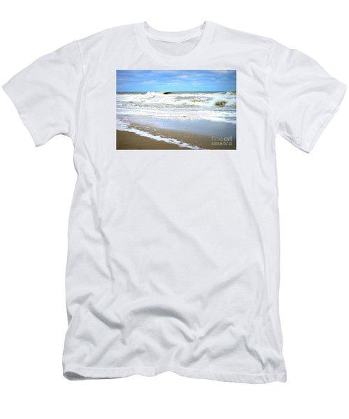 Catch A Wave Men's T-Shirt (Slim Fit) by Shelia Kempf