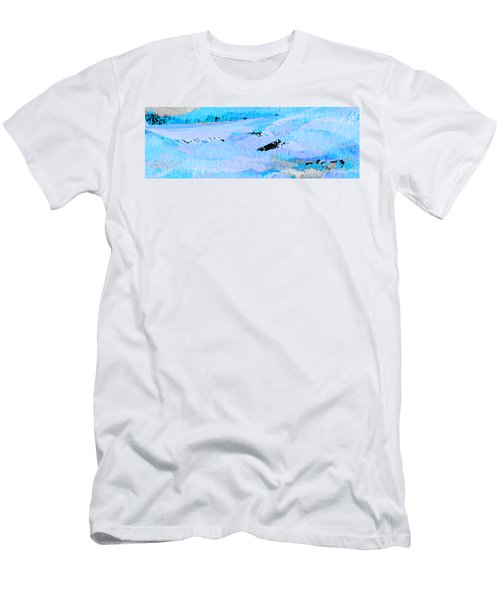 Catching Waves Men's T-Shirt (Slim Fit) by Stephanie Grant