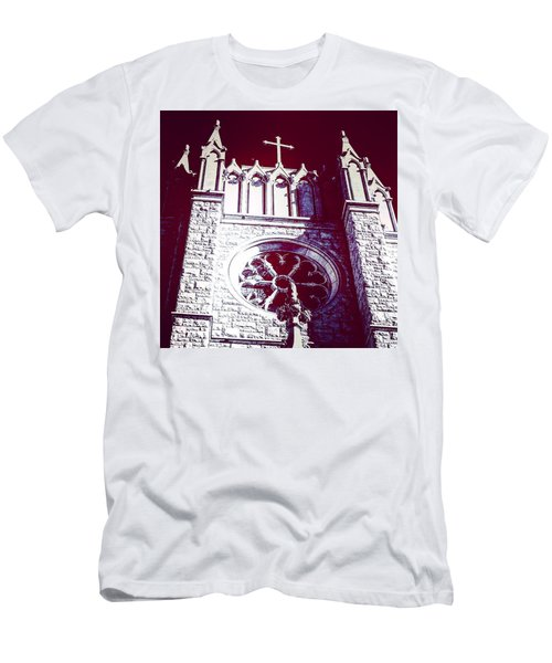 Cathedral In Archangel Glow Men's T-Shirt (Athletic Fit)