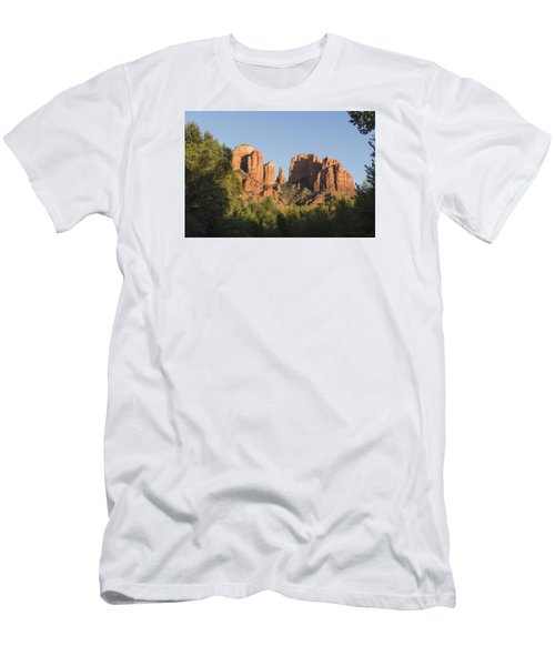 Cathedral In The Trees Men's T-Shirt (Athletic Fit)