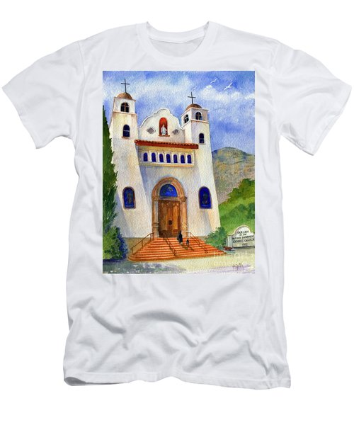 Catholic Church Miami Arizona Men's T-Shirt (Athletic Fit)