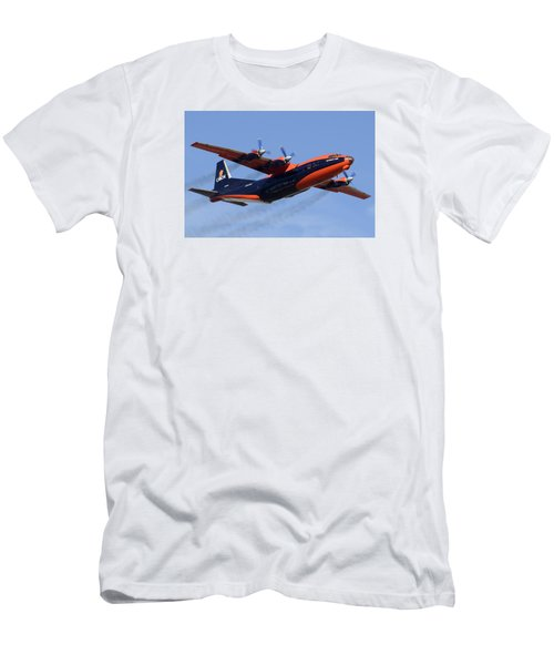 Cavok Air Antonov An-12b Ur-ckl Phoenix Sky Harbor December 2 2015 Men's T-Shirt (Slim Fit) by Brian Lockett