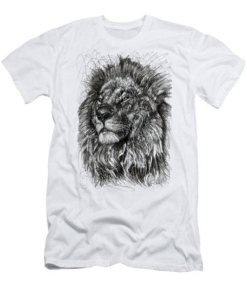 Cecil The Lion Men's T-Shirt (Athletic Fit)