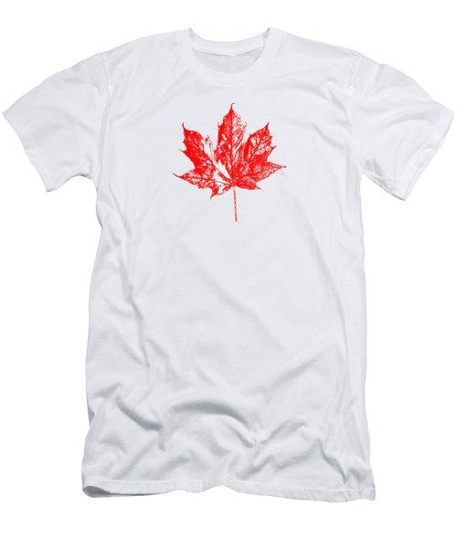 Celebrate Canada 150 Maple Leaf Men's T-Shirt (Athletic Fit)