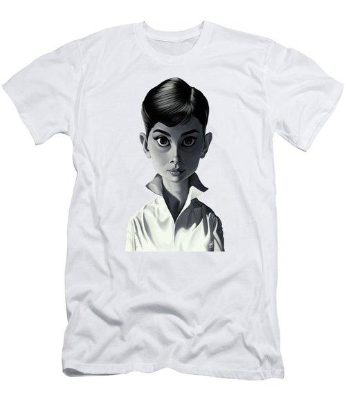Celebrity Sunday - Audrey Hepburn Men's T-Shirt (Athletic Fit)