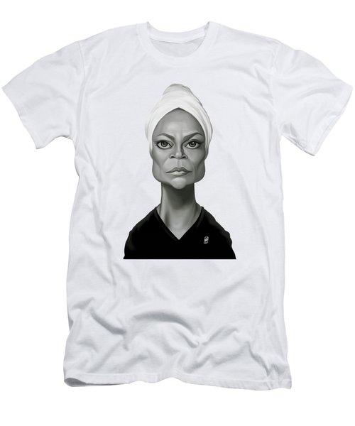 Celebrity Sunday - Eartha Kitt Men's T-Shirt (Athletic Fit)
