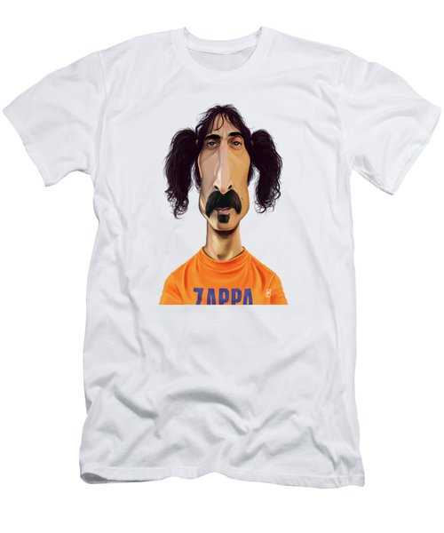 Celebrity Sunday - Frank Zappa Men's T-Shirt (Athletic Fit)
