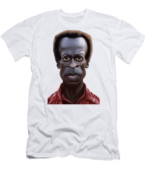Celebrity Sunday - Miles Davies Men's T-Shirt (Athletic Fit)