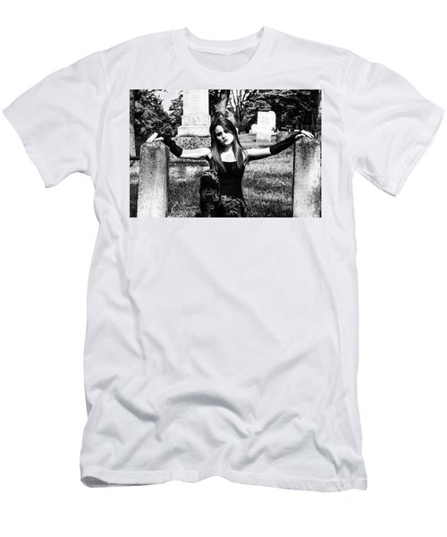 Cemetery Girl Men's T-Shirt (Athletic Fit)