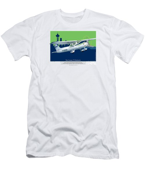 Cessna Skyhawk 172 Men's T-Shirt (Athletic Fit)