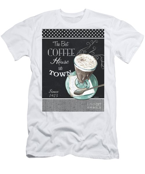 Chalkboard Retro Coffee Shop 2 Men's T-Shirt (Athletic Fit)
