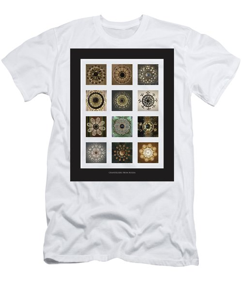 Collection Poster Chandeliers From Russia Men's T-Shirt (Athletic Fit)