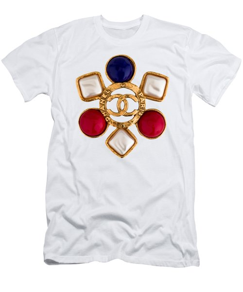 Chanel Jewelry-14 Men's T-Shirt (Athletic Fit)
