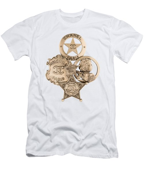 Chanel Jewelry-16 Men's T-Shirt (Athletic Fit)