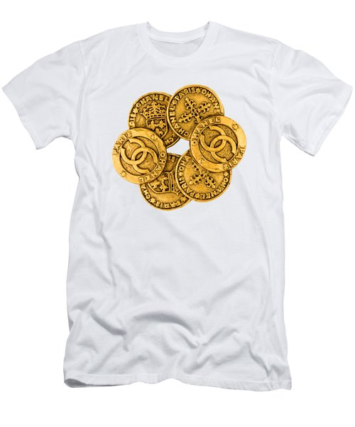 Chanel Jewelry-3 Men's T-Shirt (Athletic Fit)
