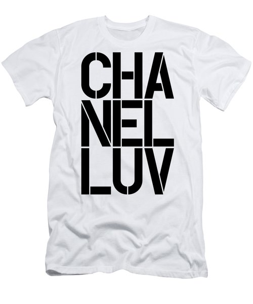 Chanel Luv-1 Men's T-Shirt (Athletic Fit)