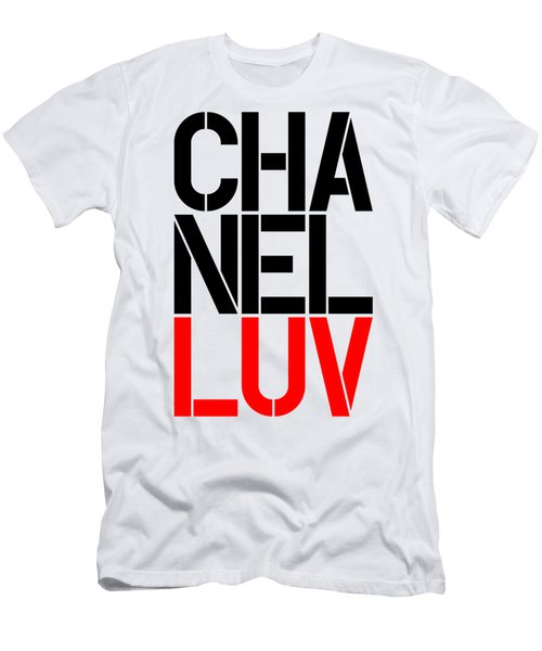 Chanel Luv-5 Men's T-Shirt (Athletic Fit)