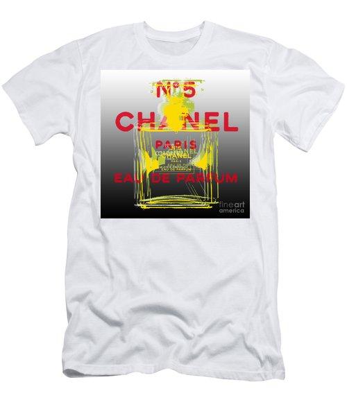 Chanel  No. 5 Pop Art - #1 Men's T-Shirt (Athletic Fit)
