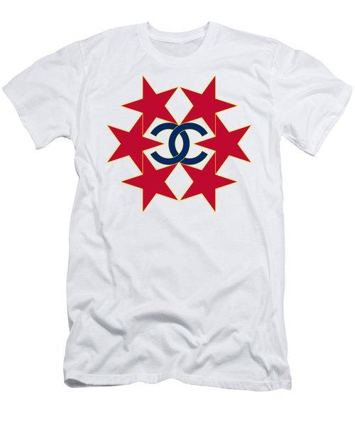 Chanel Stars-12 Men's T-Shirt (Athletic Fit)
