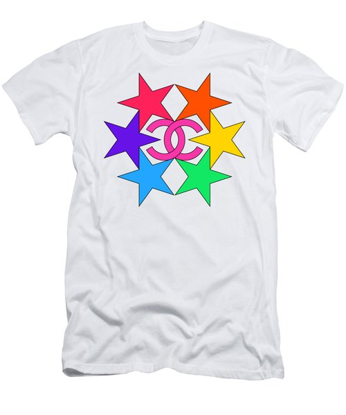 Chanel Stars-15 Men's T-Shirt (Athletic Fit)
