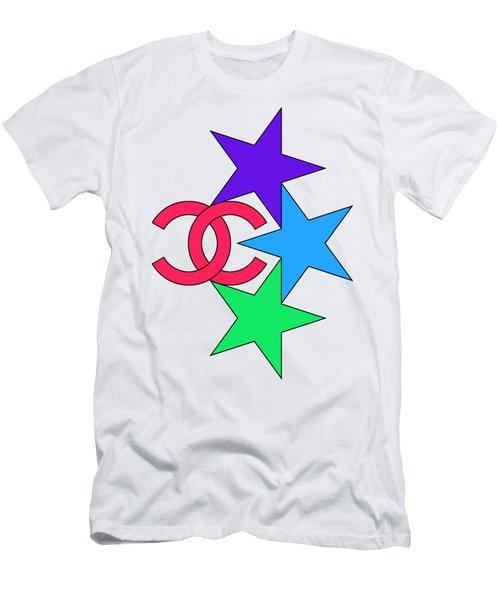 Chanel Stars-4 Men's T-Shirt (Athletic Fit)