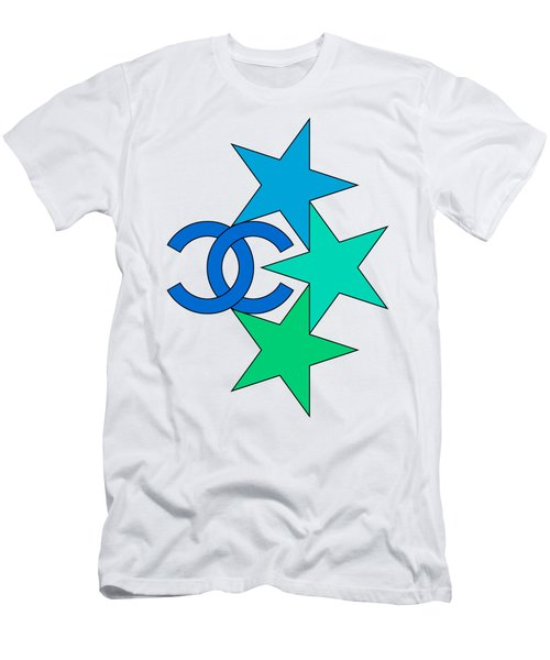 Chanel Stars-8 Men's T-Shirt (Athletic Fit)