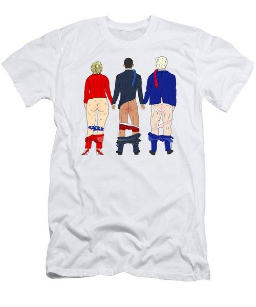 Change Hope Butts Men's T-Shirt (Slim Fit) by Notsniw Art