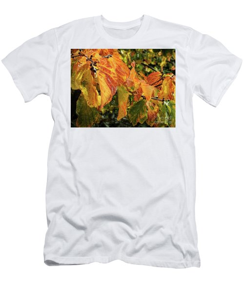 Men's T-Shirt (Athletic Fit) featuring the photograph Changes by Peggy Hughes
