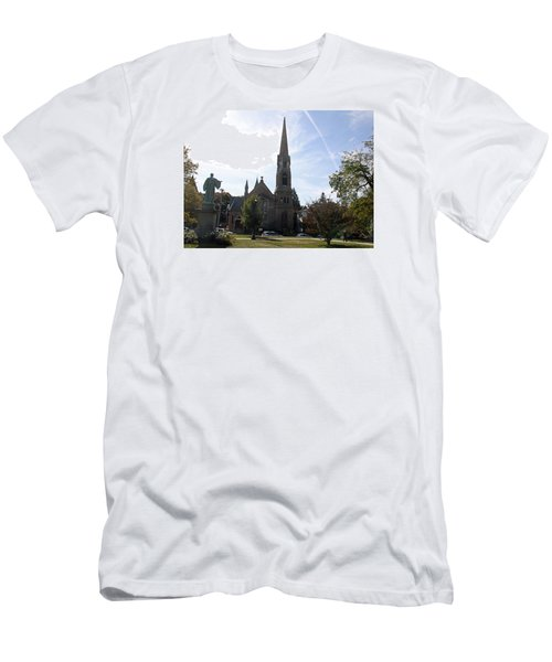 Channing Memorial Church Men's T-Shirt (Athletic Fit)