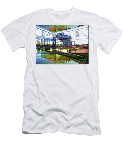 Chaplin Ihn Strassburg Men's T-Shirt (Athletic Fit)
