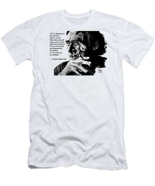 Charles Bukowski Men's T-Shirt (Athletic Fit)