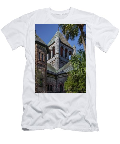 Charleston Historic Church Men's T-Shirt (Athletic Fit)