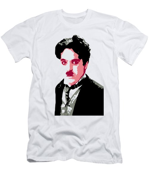 Charlie Chaplin Men's T-Shirt (Athletic Fit)