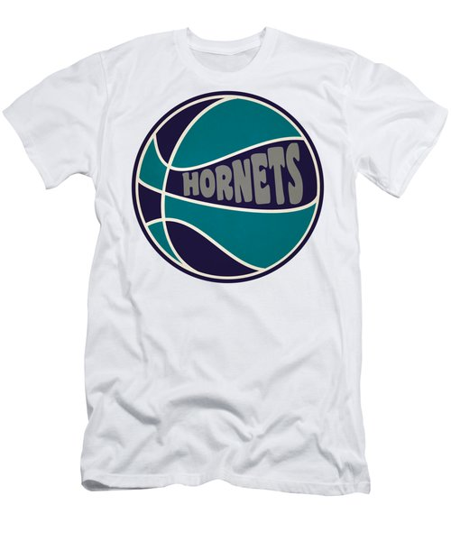 Charlotte Hornets Retro Shirt Men's T-Shirt (Slim Fit) by Joe Hamilton
