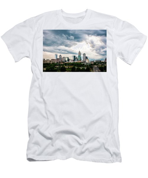 Men's T-Shirt (Slim Fit) featuring the photograph Charlotte In The Clouds by Phyllis Peterson