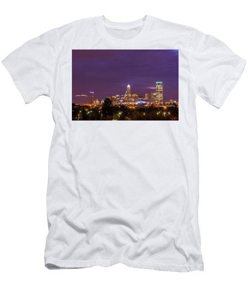 Charlotte, North Carolina Sunrise Men's T-Shirt (Athletic Fit)