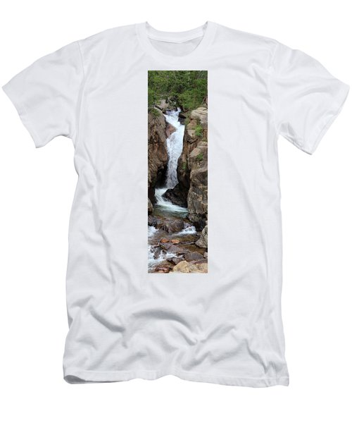 Chasm Falls 2 - Panorama Men's T-Shirt (Athletic Fit)