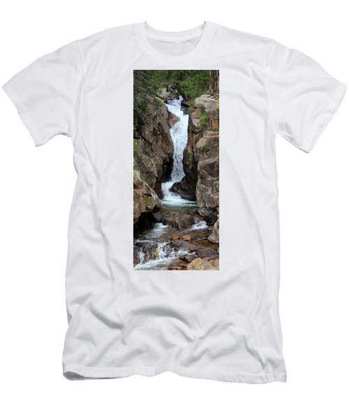 Chasm Falls - Panorama Men's T-Shirt (Athletic Fit)