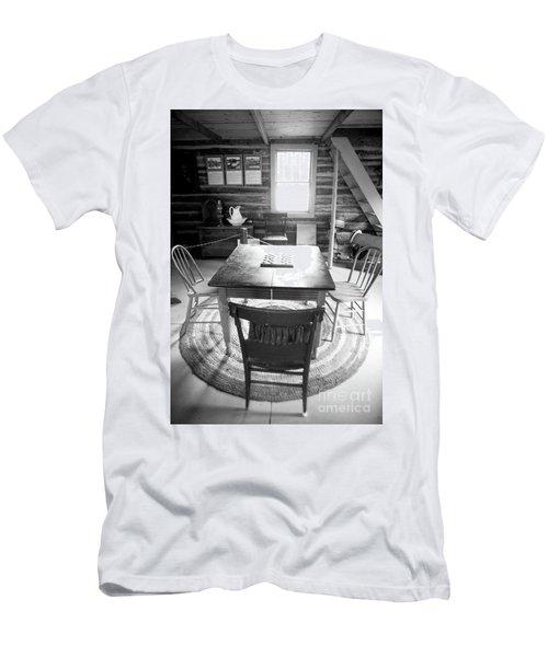 Checkers Men's T-Shirt (Slim Fit) by Randall Cogle