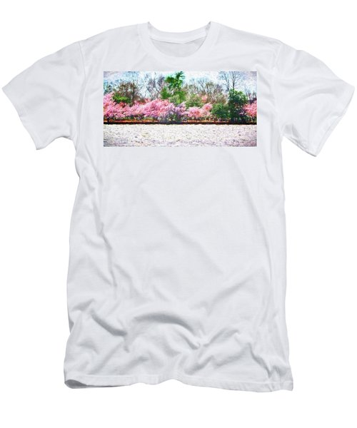 Cherry Blossom Day Men's T-Shirt (Athletic Fit)