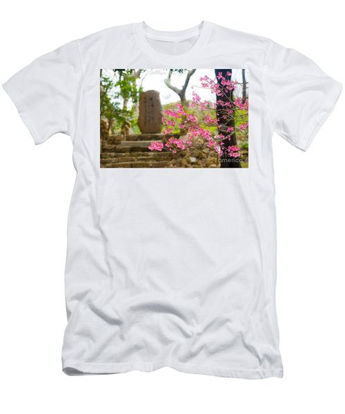 Cherry Blossoms 11 Men's T-Shirt (Athletic Fit)