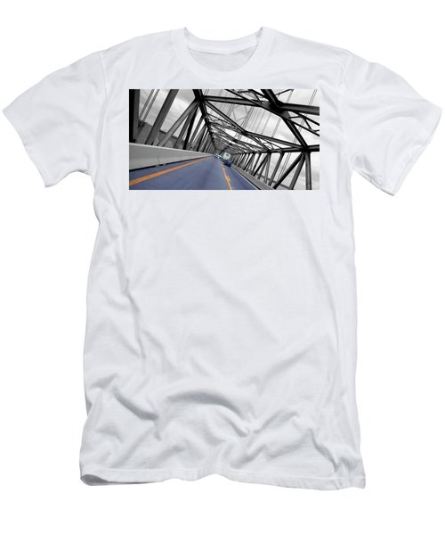 Chesapeake Bay Bridge Men's T-Shirt (Athletic Fit)