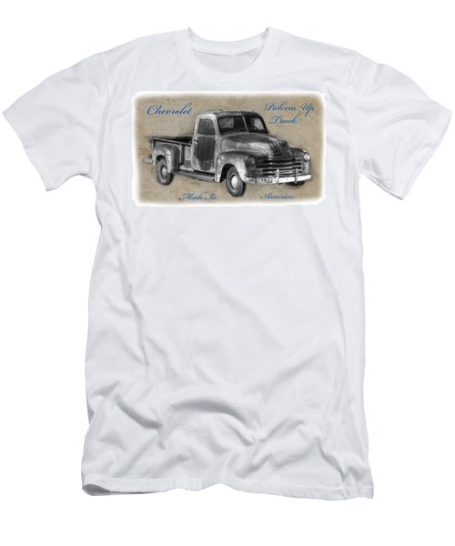 Chevy Pickup Truck T-shirt Men's T-Shirt (Athletic Fit)