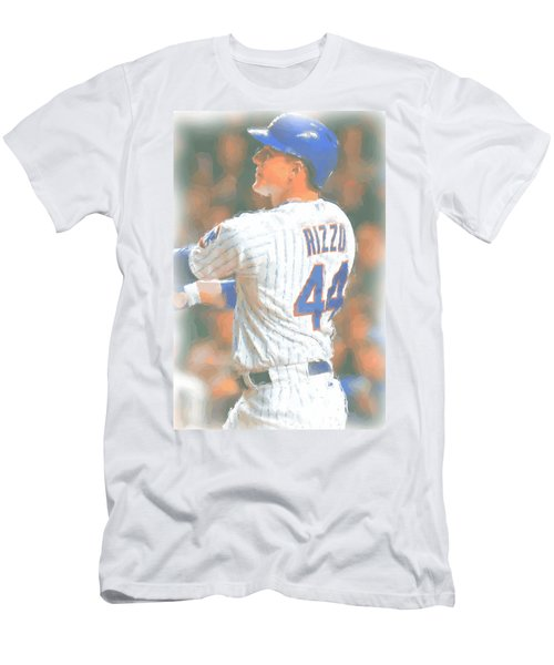Chicago Cubs Anthony Rizzo 2 Men's T-Shirt (Athletic Fit)